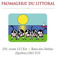 Fromagerie Du Littoral - Promotions & Rabais à Baie-des-Sables