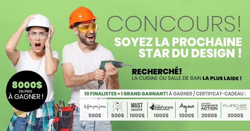 Concours à La Recherche De La Cuisine Ou Salle De Bain La Plus Laide!