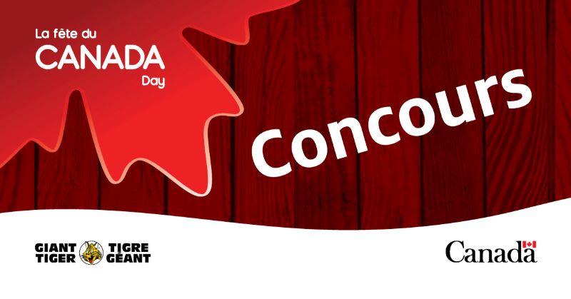 Concours De La Fête Du Canada!
