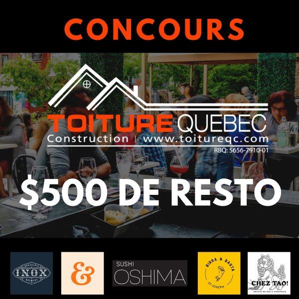 Concours Gagne Ton Resto En Zone Orange!