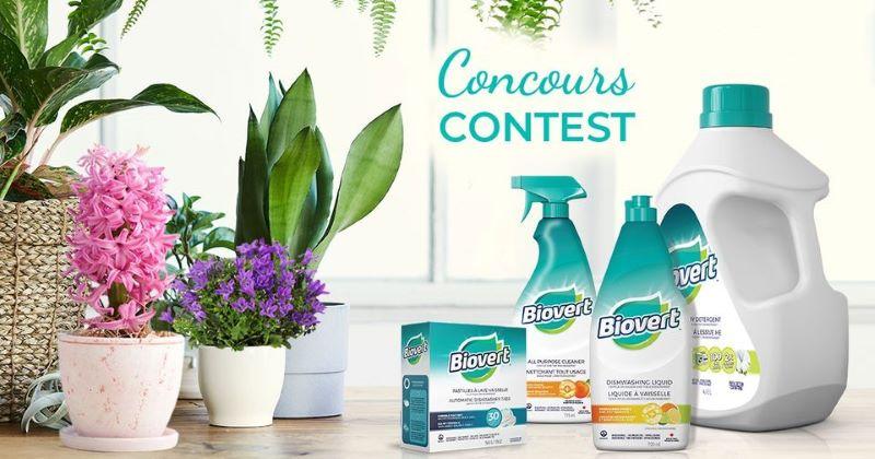 Concours Gagnez 1 Des 3 Cartes Cadeaux De 500 $ Dans Un Centre Jardin Ou 1 Des 9 Paniers De Produits Biovert De 70$!