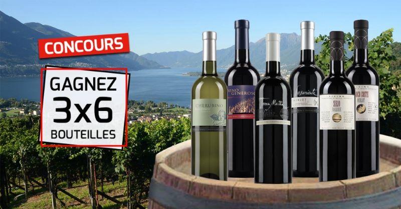 Concours Gagnez 3 Coffrets De Vins Tessinois!