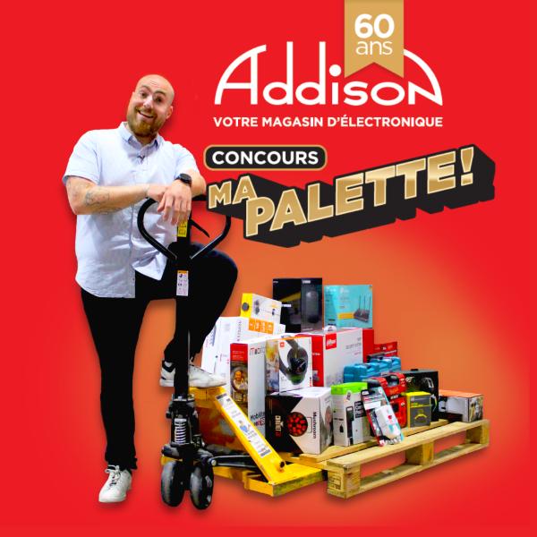 Concours Gagnez 300$ En Carte Cadeau Addison!
