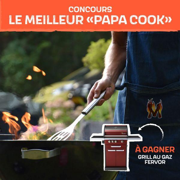 Concours Gagnez Le Grill Au Gaz Fervor D