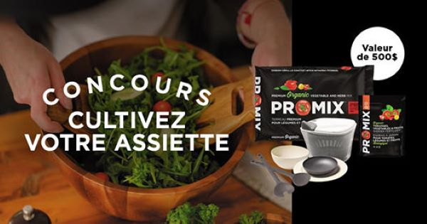 Concours Gagnez L'un Des 10 Ensembles Du Parfait Chef Jardinier D'une Valeur De 500$!