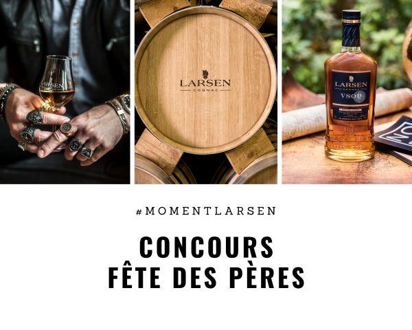 Concours Gagnez L'une Des 5 Bouteilles Du Larsen Cognac Vsop!