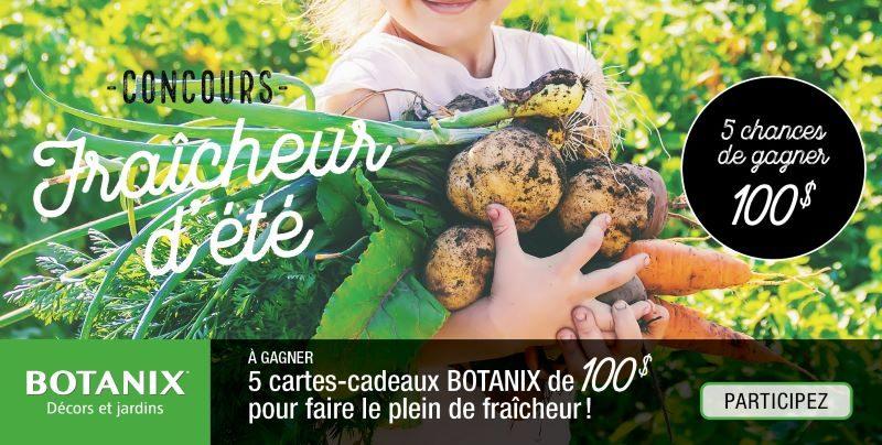 Concours Gagnez L'une Des 5 Cartes Cadeaux Botanix D'une Valeur De 100$!
