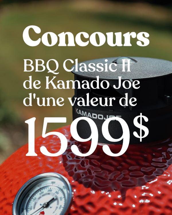 Concours Gagnez Un Barbecue Au Charbon Classic Ii D'une Valeur De 1599$!