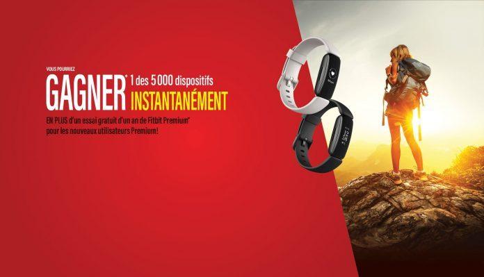 Concours Gagnez Un Bracelet D'activité Fitbit Inspire 2!