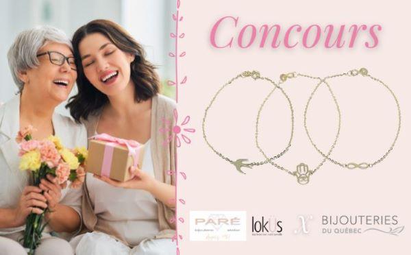 Concours Gagnez Un Bracelet En Or 10k De La Collection Loküs!