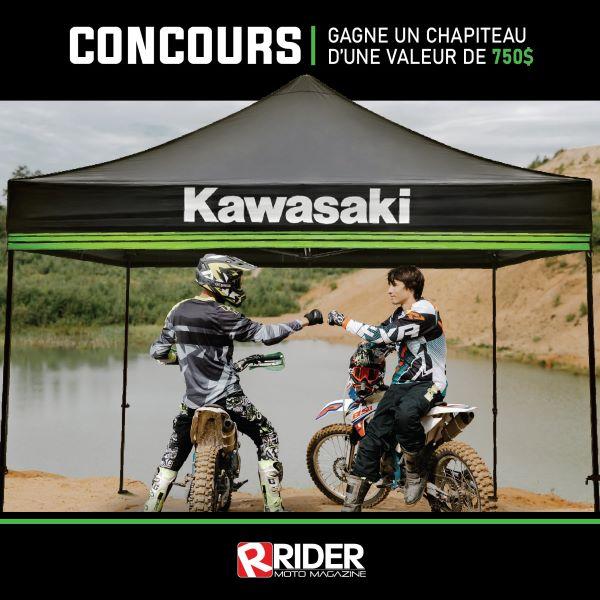 Concours Gagnez Un Chapiteau Kawasaki D