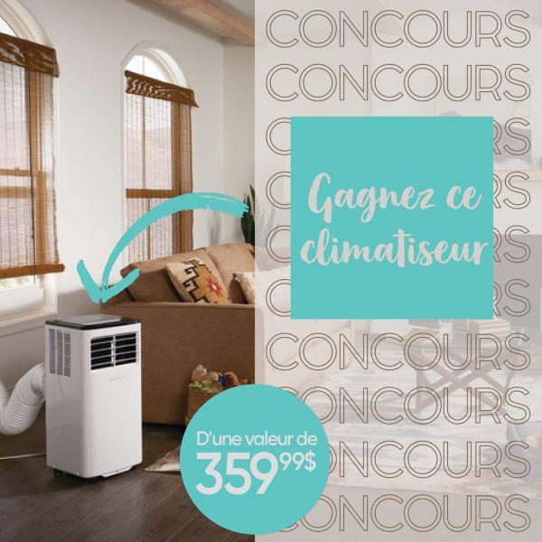 Concours Gagnez Un Climatiseur Frigidaire Portatif De 8 000 Btu!