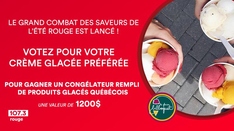 Concours Gagnez Un Congélateur Rempli De Crème Glacée, Une Valeur De 1200$!