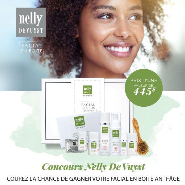 Concours Gagnez Un Facial En Boite Anti Age Nelly Devuyst D