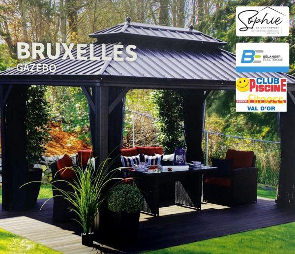 Concours Gagnez Un Gazébo De Qualité Bruxelles Offert Par Sophie St Cyr Prevost Courtier Immobilier!