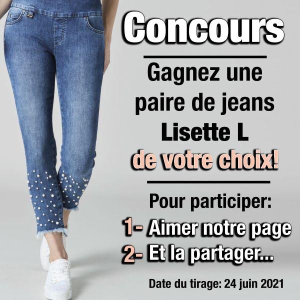 Concours Gagnez Un Jeans Lisette L Montreal De Votre Choix!