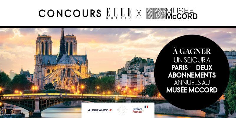 Concours Gagnez Un Séjour à Paris Pour Deux Personnes!