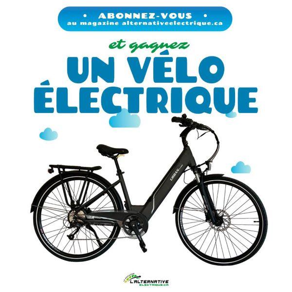 Concours Gagnez Un Vélo électrique!