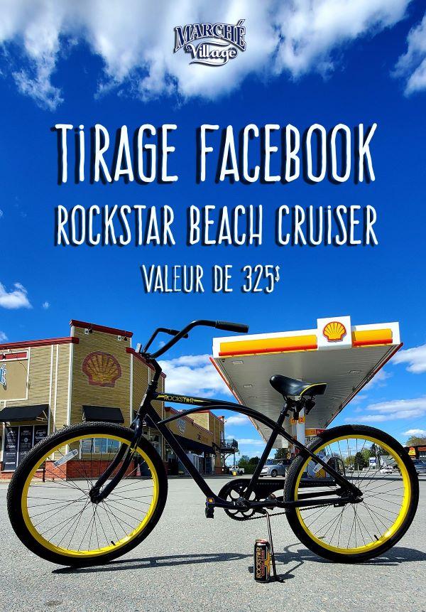 Concours Gagnez Un Vélo Rockstar Beach Cruiser!