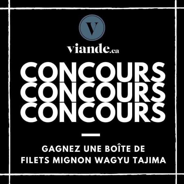 Concours Gagnez Une Boîte De Filets Mignon Wagyu Tajima D