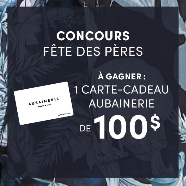 Concours Gagnez Une Carte Cadeau Aubainerie D