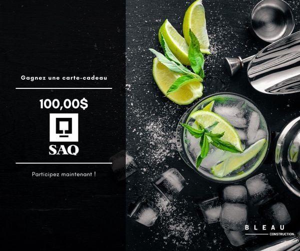 Concours Gagnez Une Carte Cadeau De 100$ à La Saq!