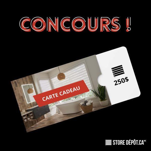 Concours Gagnez Une Carte Cadeau D
