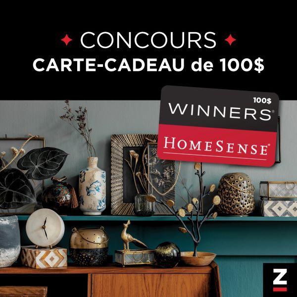 Concours Gagnez Une Carte Cadeau Winners Homesense D