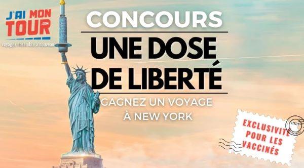 Concours Gagnez Une Fin De Semaine Pour Deux à New York!
