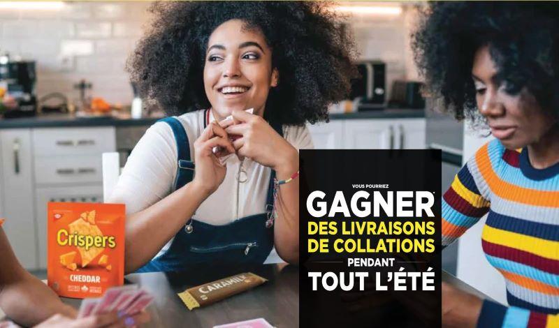 Concours Gagnez Une Livraison Exclusive De Collations!