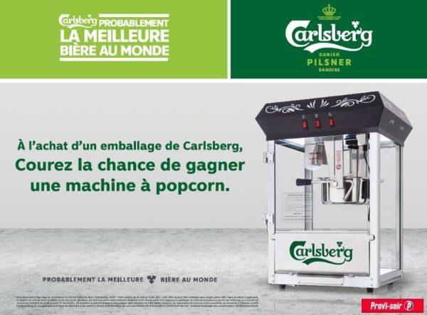 Concours Gagnez Une Machine à Popcorn!