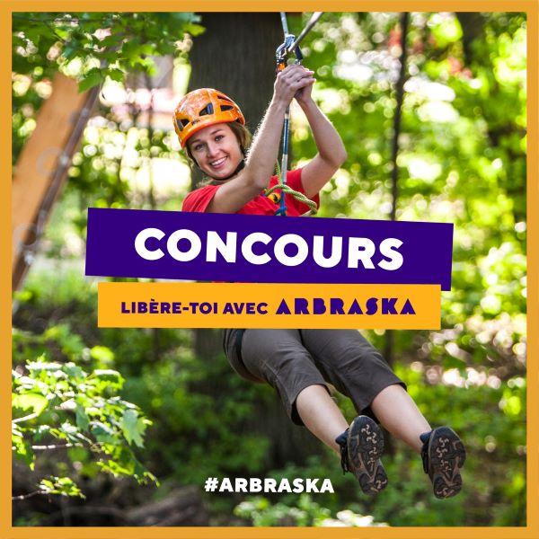 Concours Gagnez Une Passe De Saison Arbraska D'une Valeur De 130$!