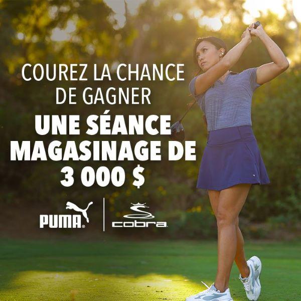Concours Gagnez Une Séance Magasinage De 3 000$ Chez Golf Town!