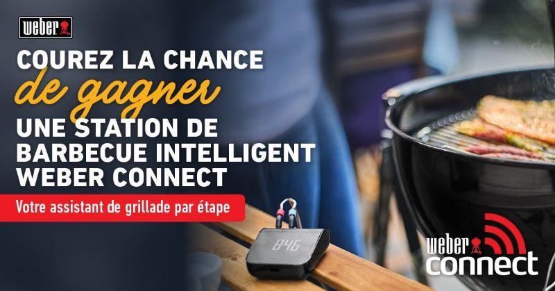 Concours Gagnez Une Station De Barbecue Intelligent Weber Connect!
