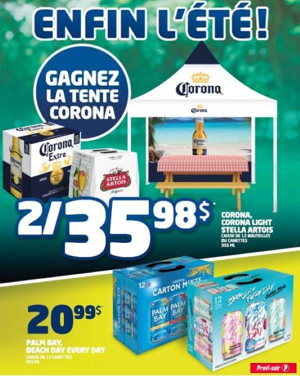 Concours Gagnez Une Tente Corona!