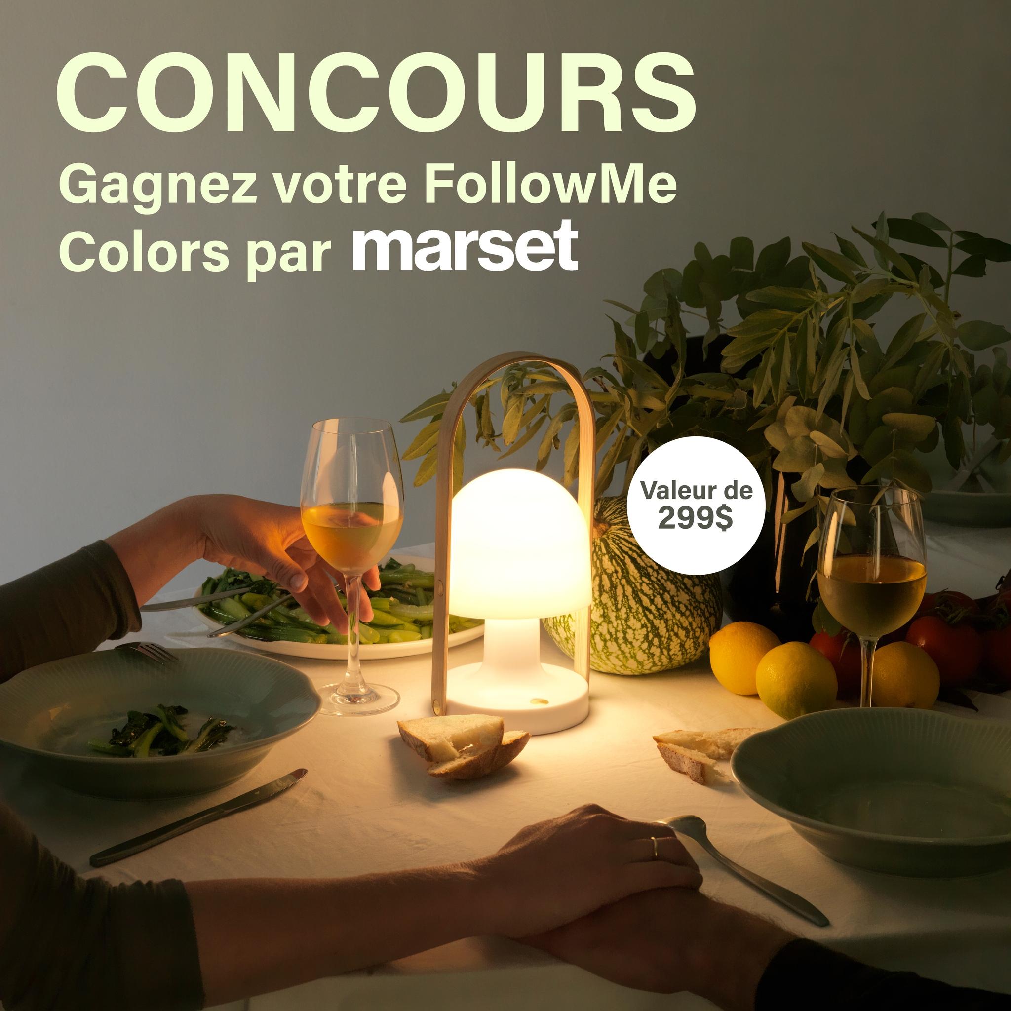 Concours Gagnez Votre Followme