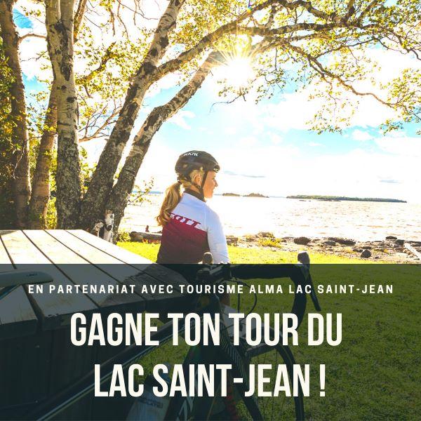 Concours Gagnez Votre Tour Du Lac Saint Jean à Vélo!