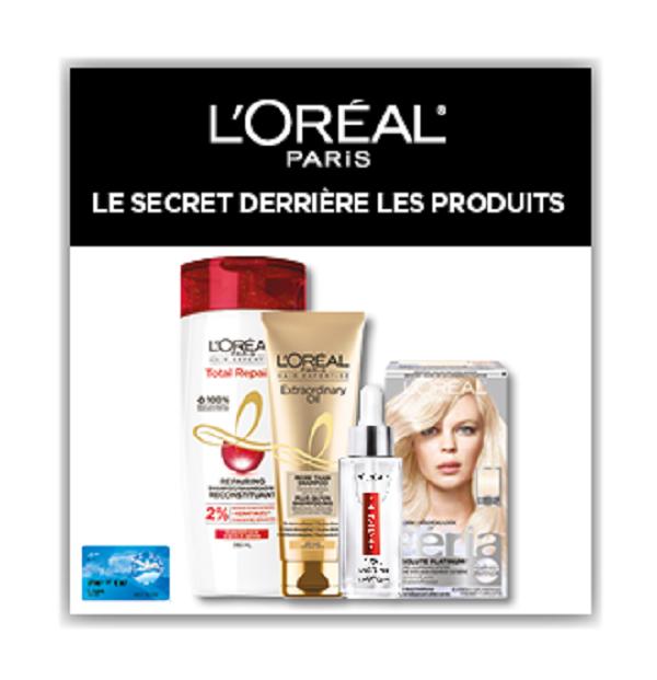 Concours Le Secret Derrière Les Produits!