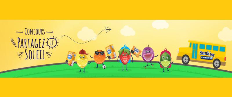 Concours Partagez Le Soleil Des Collations Aux Fruits Sunkist!