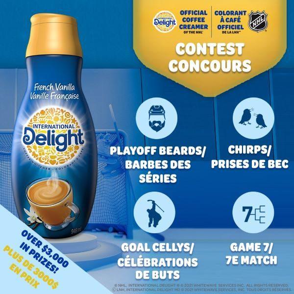 Concours Plus De 3 000 $ En Prix à Gagner Offert Par International Delight Canada!