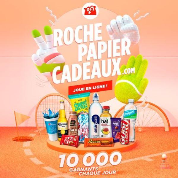 Concours Roche Papier Cadeaux!