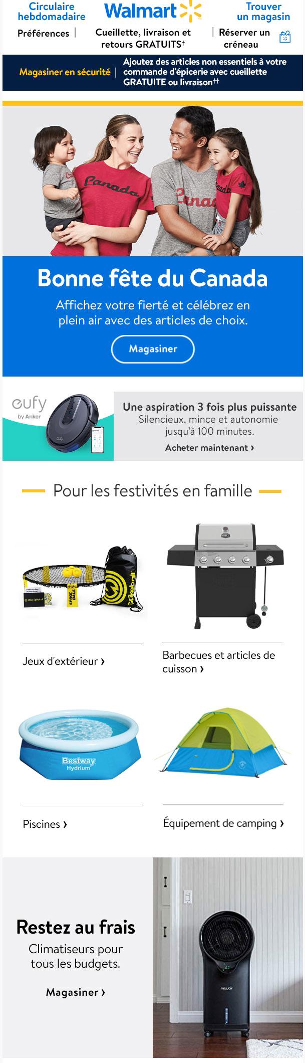 Festivités En Famille Pour La Fête Du Canada