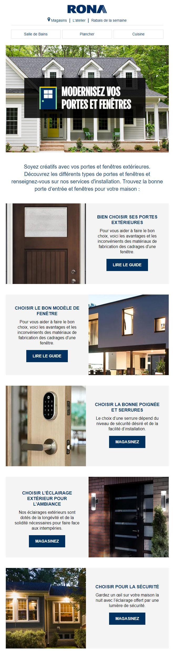 Modernisez Vos Portes Et Fenêtres !