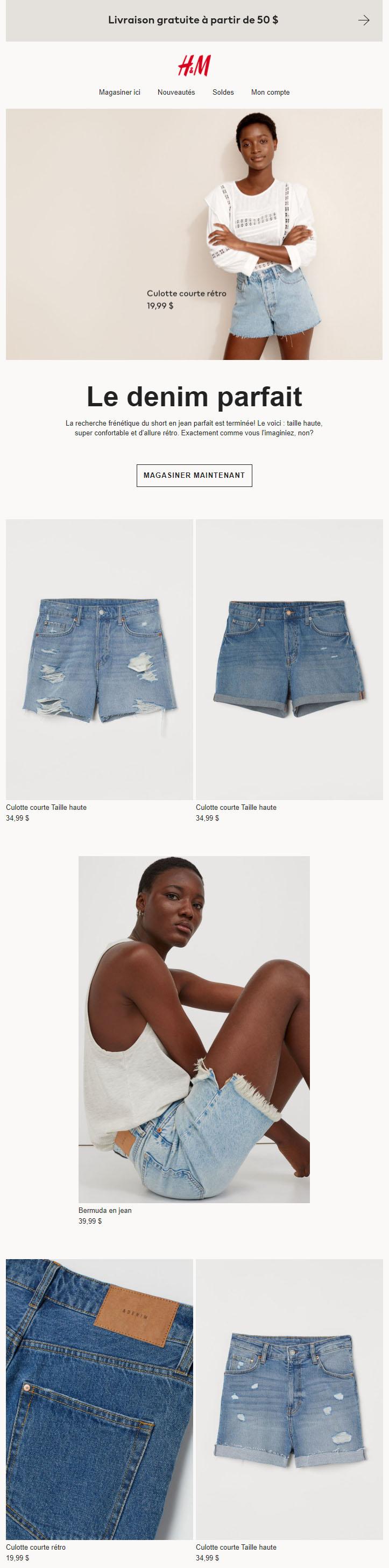 Vos Nouveaux Shorts En Jean Préférés
