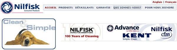 Balayeuse Aspirateur Nilfisk Canada Site Web