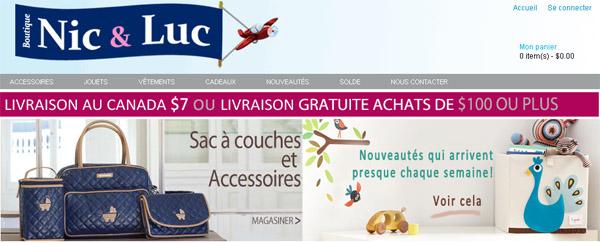 Boutique Nic Et Luc Bébés Enfants Circulaire En Ligne