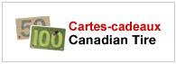 Cartes Cadeaux Canadian Tire En Ligne