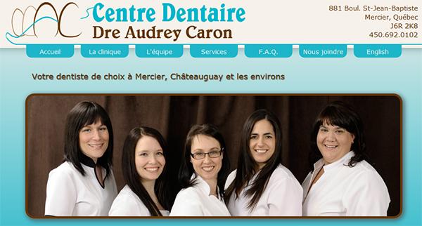 Centre Dentaire Dre Audrey Caron En Ligne
