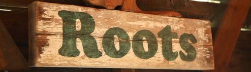 Boutique Roots en ligne
