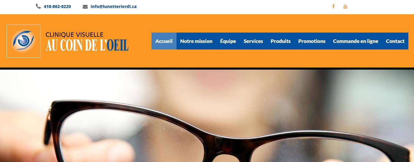 Clinique Visuelle Au Coin De L